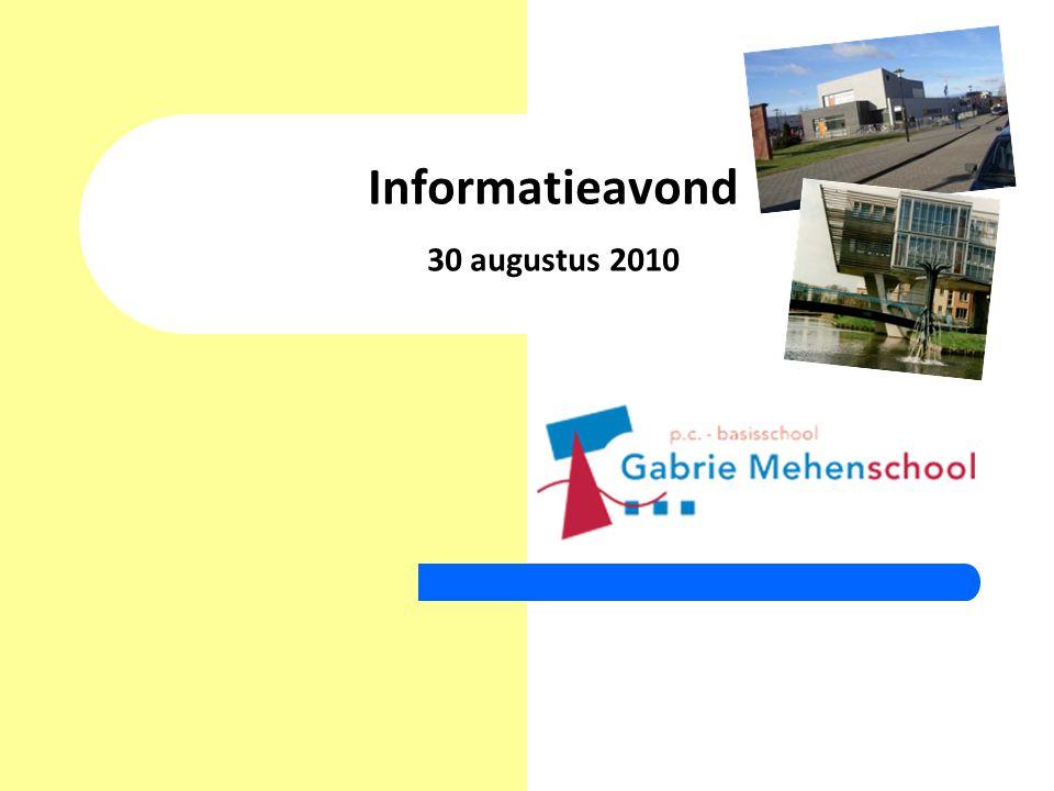 Informatieavond 30 augustus 2010