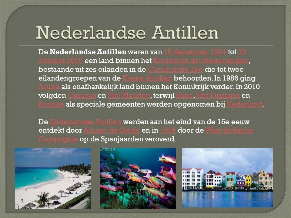 De Nederlandse Antillen waren van 15 december 1954 tot 10 oktober 2010 een land binnen het Koninkrijk der Nederlanden, bestaande uit zes eilanden in d