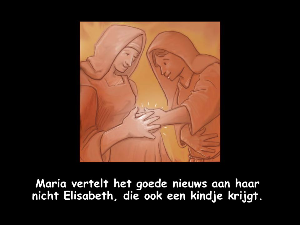 """""""Maria, je zult een kind van God krijgen en je zult hem Jezus, de verlosser, noemen."""""""