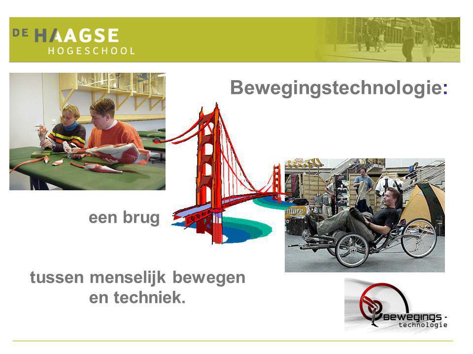 Bewegingstechnologie: tussen menselijk bewegen en techniek. een brug