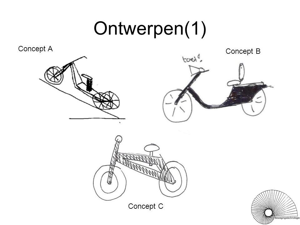 Ontwerpen(1) Concept A Concept B Concept C