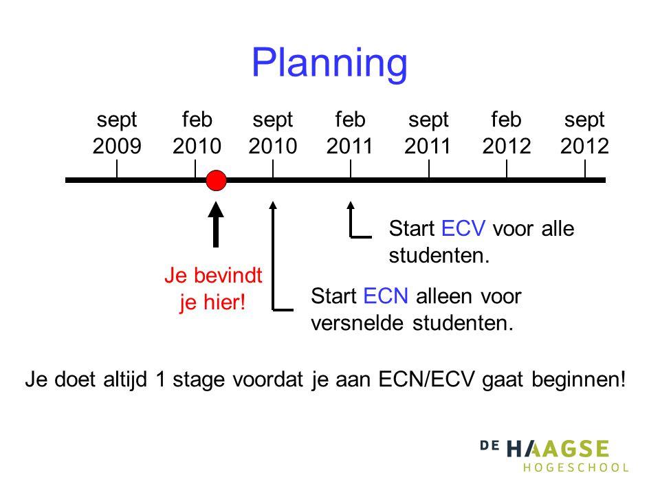 Planning sept 2009 feb 2010 sept 2010 feb 2011 sept 2011 feb 2012 sept 2012 Je bevindt je hier.