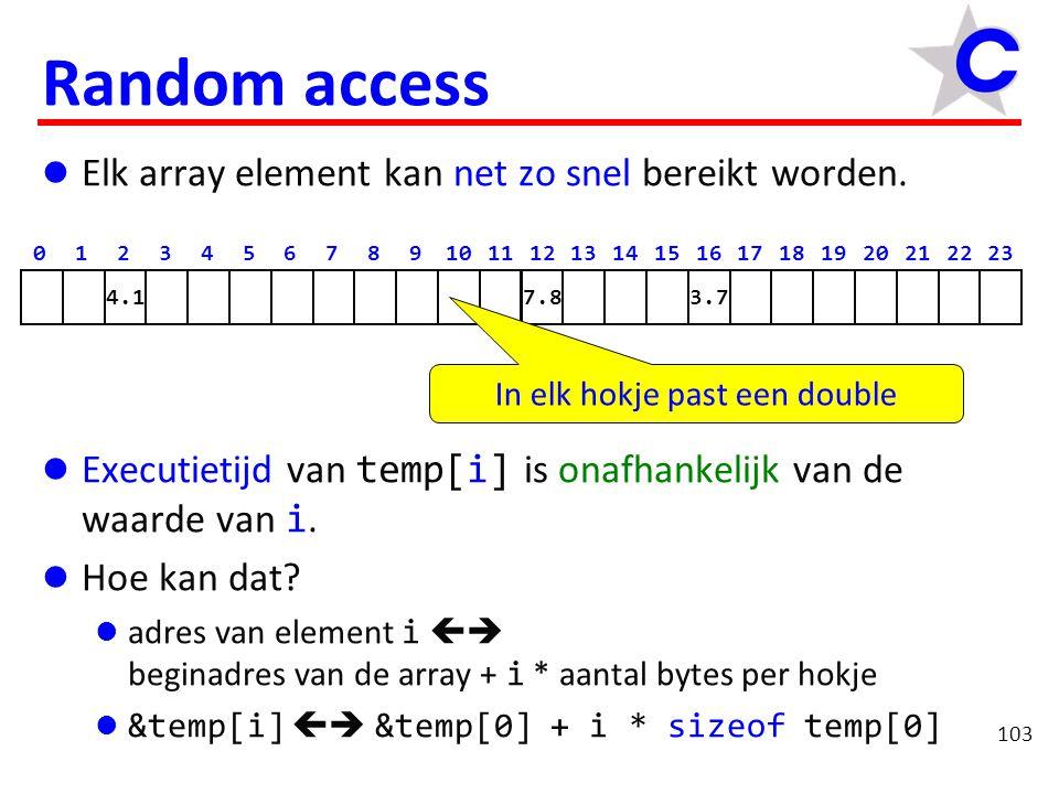 114 Huiswerk Schrijf een functie reverse waarmee de inhoud van een rij gehele getallen omgedraaid kan worden.