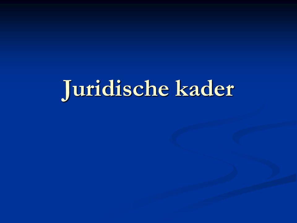 Juridische kader