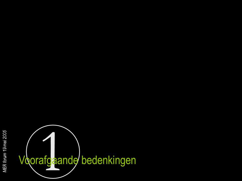 1 MER forum 19 mei 2005 Tijdsverlies als ontheffing niet toegestaan wordt vermits procedures niet geïntegreerd zijn ('ik ken ook iemand die niet zal kunnen lachen') Je legt zeer zware druk op MER-college : 'niet significantie wordt het exclusieve doel ifv bekomen ontheffing' ( ik zal zelf ook niet kunnen lachen ) De oude verdenking 'rechter die betaald is door partij' wordt terug aangewakkerd Eerste resultaatsverbintenissen steken de kop op (zelf overheidsopdrachten) De MER-cel om de tuin leiden met wat kwetsbaarheids- kaarten en wat huis-tuin-en-keukenregels wordt de nieuwe uitdaging (een diepgaand onderzoek is immers niet de bedoeling) ('de MER-cel zal ook al niet kunnen lachen') Risico's en problemen : een karikatuur