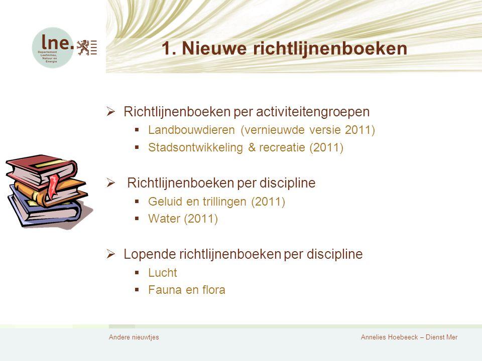 Andere nieuwtjesAnnelies Hoebeeck – Dienst Mer 1.