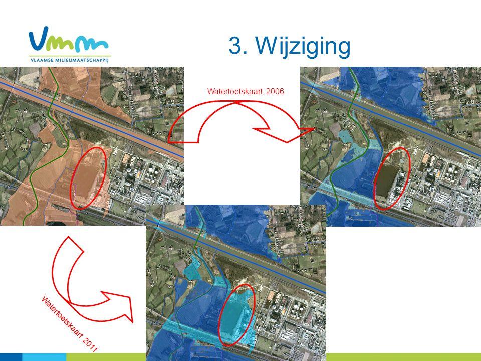 27 3. Wijziging Watertoetskaart 2006 Watertoetskaart 2011