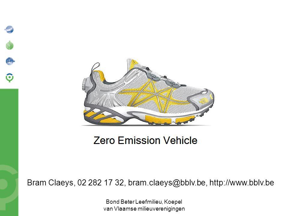 Bond Beter Leefmilieu, Koepel van Vlaamse milieuverenigingen Bram Claeys, 02 282 17 32, bram.claeys@bblv.be, http://www.bblv.be