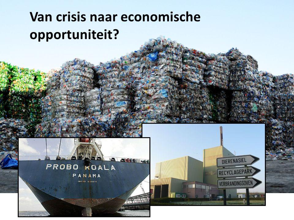 Van crisis naar economische opportuniteit?