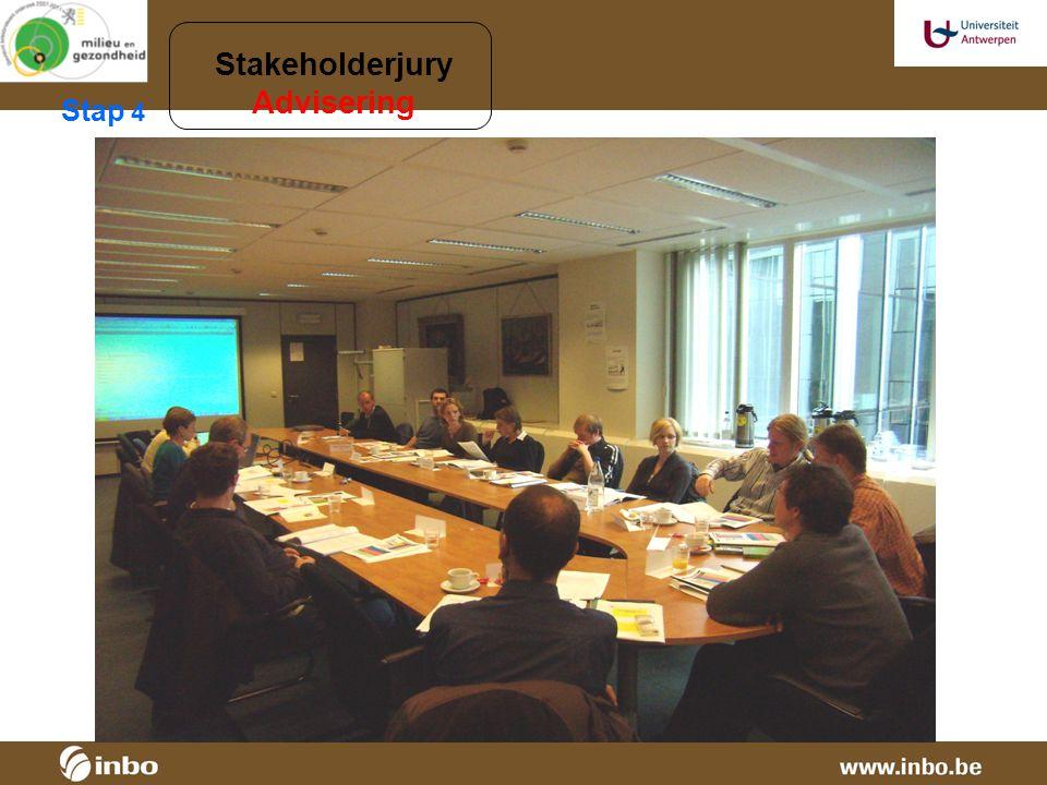 Stap 4 Stakeholderjury Advisering