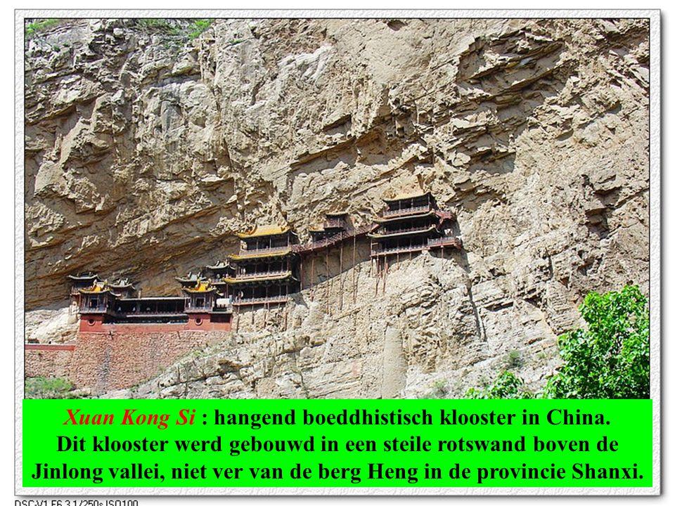 Xuan Kong Si Hangend boeddhistisch klooster