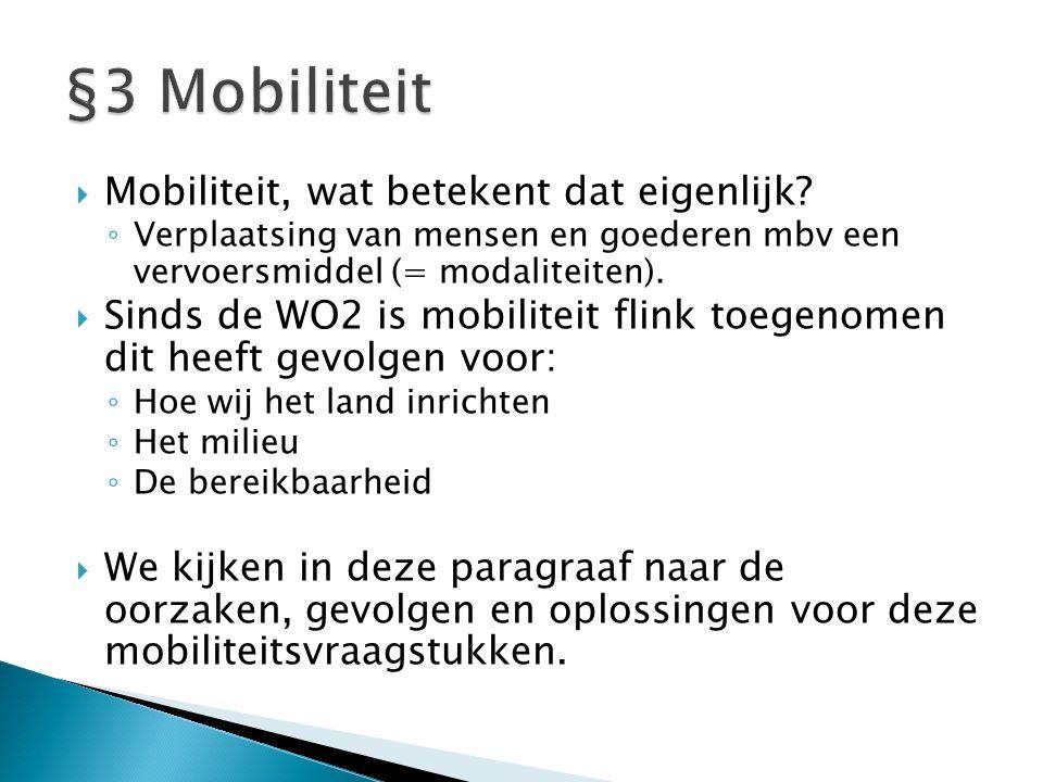  Mobiliteit, wat betekent dat eigenlijk.