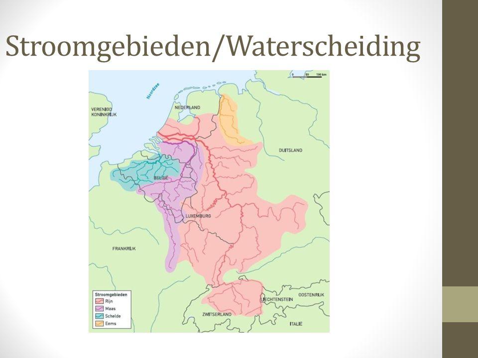 Stroomgebieden/Waterscheiding