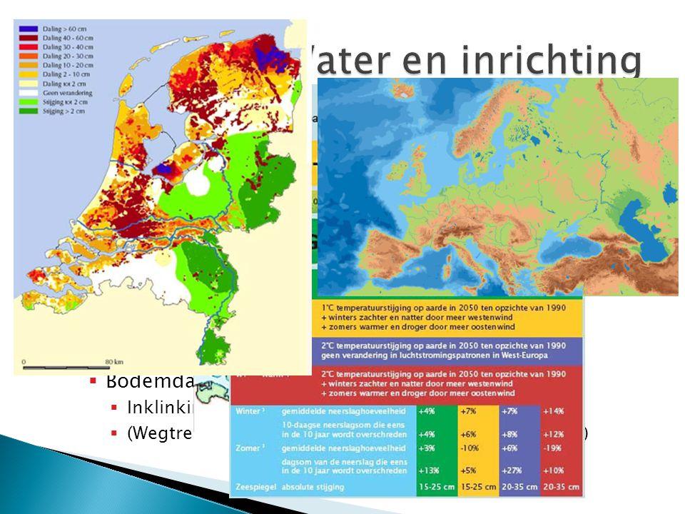  Dankzij dijken, polders en gemalen is het voor ons mogelijk om onder de zeespiegel te leven.