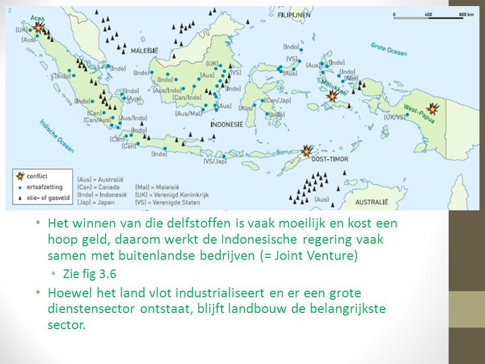 1.2 Natuurlijke hulpbronnen Indonesië kent grote verschillen in armoede en rijkdom. De rijkdom die Indonesië kent, komt grotendeels voort uit de inkom