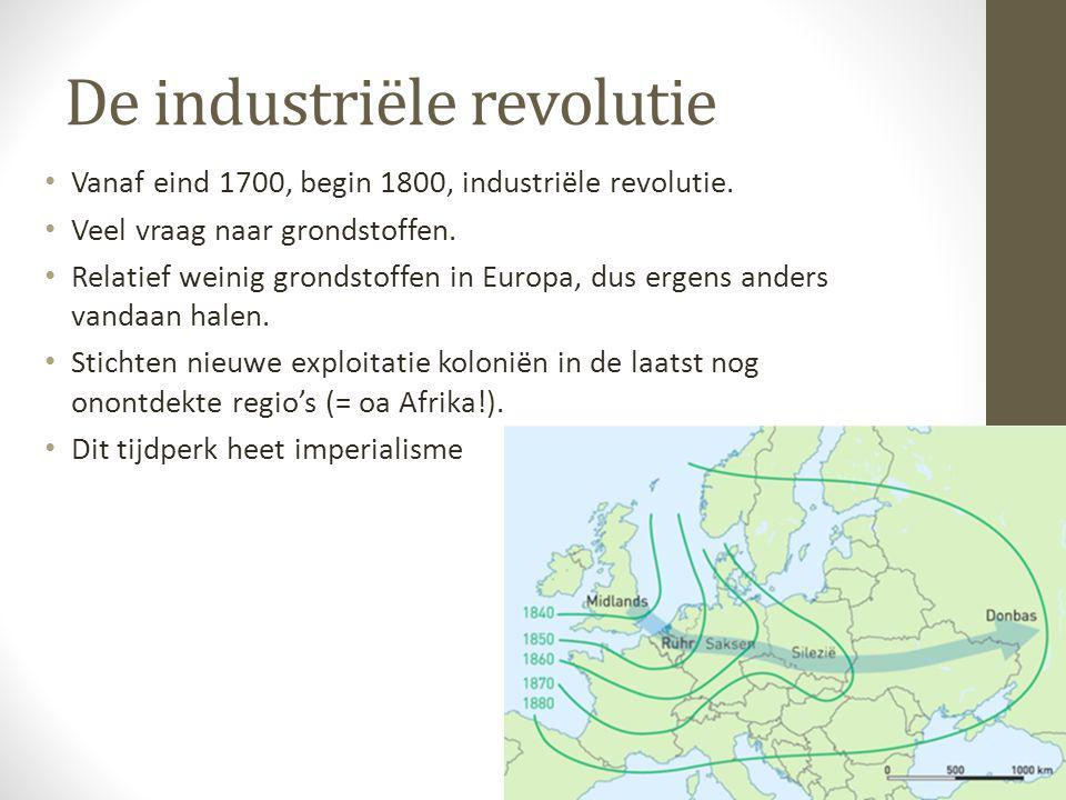 Er werd geïnvesteerd in infrastructuur om alle grondstoffen zo snel mogelijk naar het moederland te krijgen.
