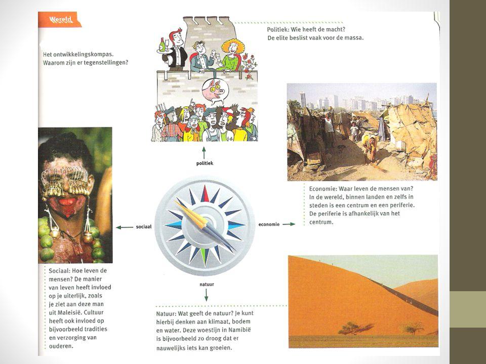 Cultuur verenigt en (onder)scheidt ► Binnen het wereldsysteem komen cultuurgebieden voor.
