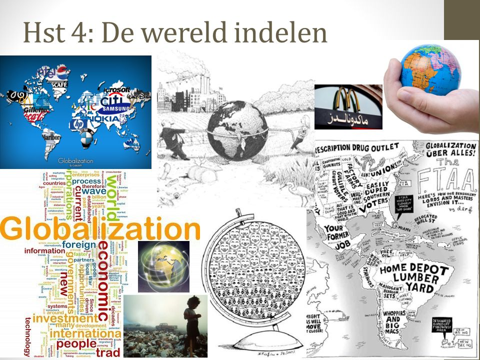 Verwestering en modernisering (2) Veel mensen vrezen door globalisering (lees amerikanisering) voor verlies aan regionale identiteit Ik voel me in NL  Brabander.