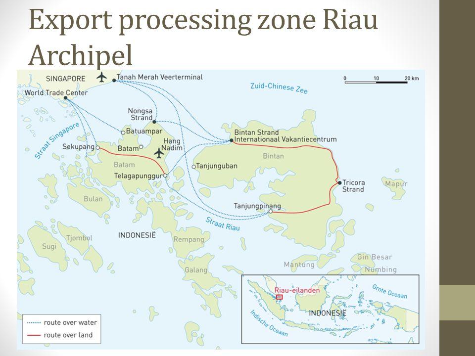 Export processing zone Riau Archipel
