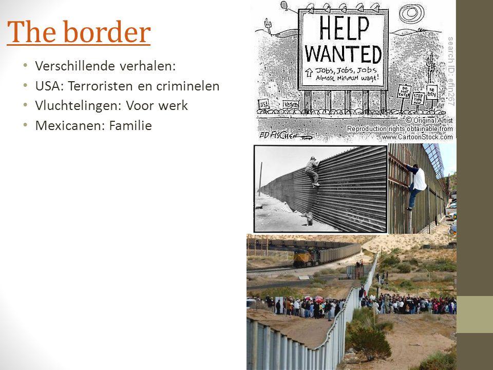 Arm & Rijk De grensstreek Mexico – VS staat centraal in dit boekje.