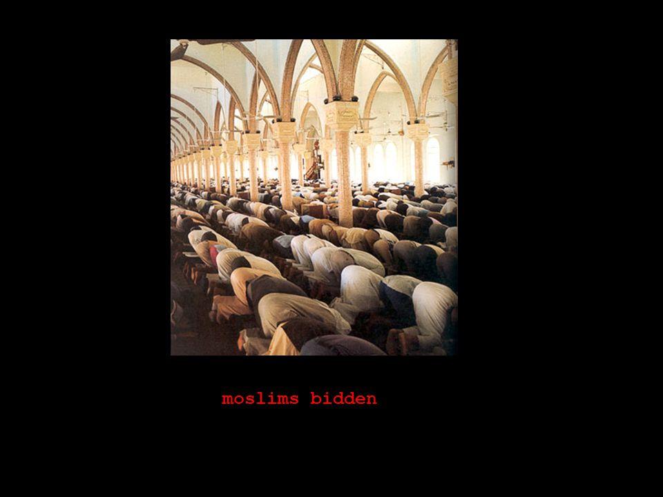 moslims bidden