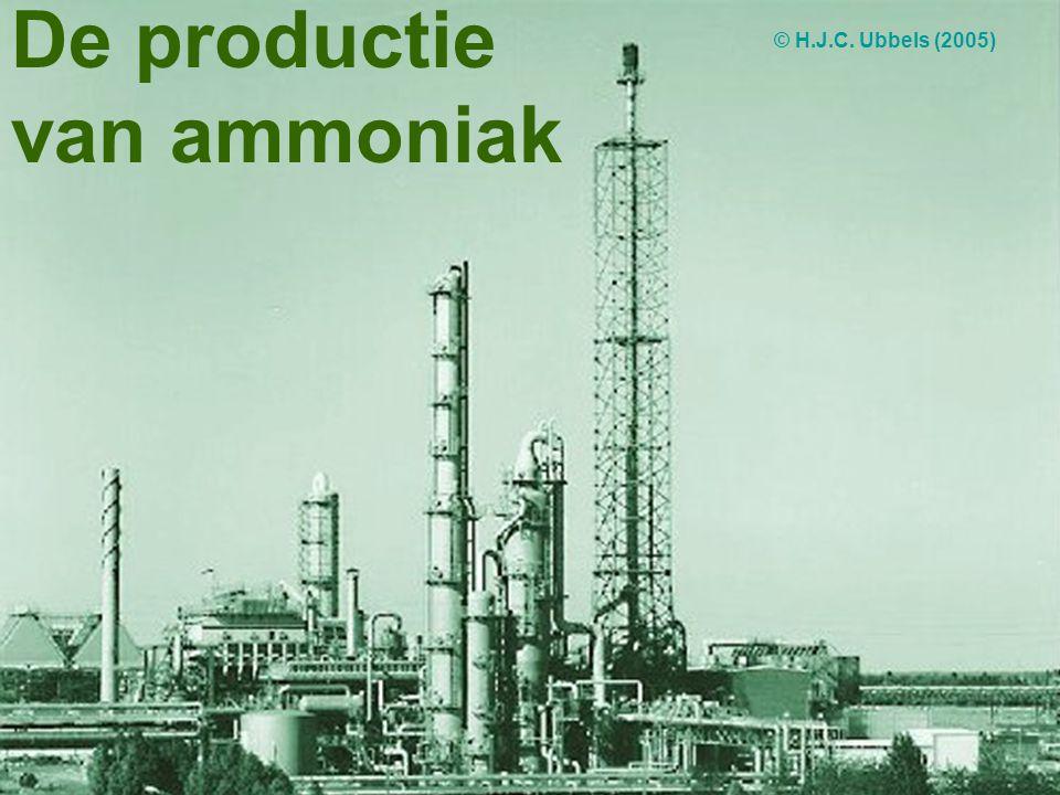 De productie van ammoniak © H.J.C. Ubbels (2005)