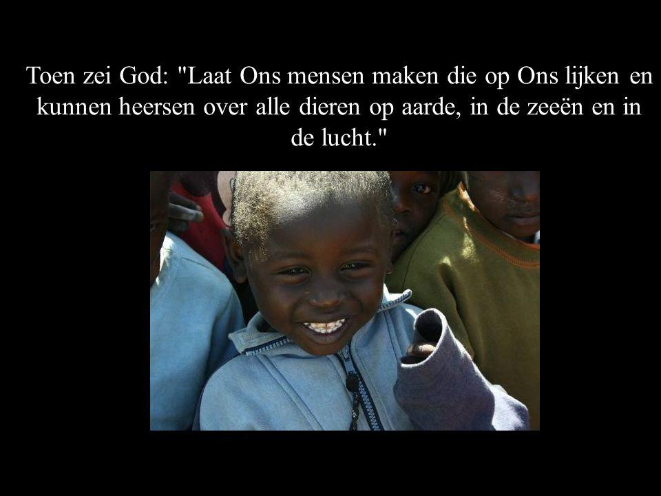 Toen zei God: