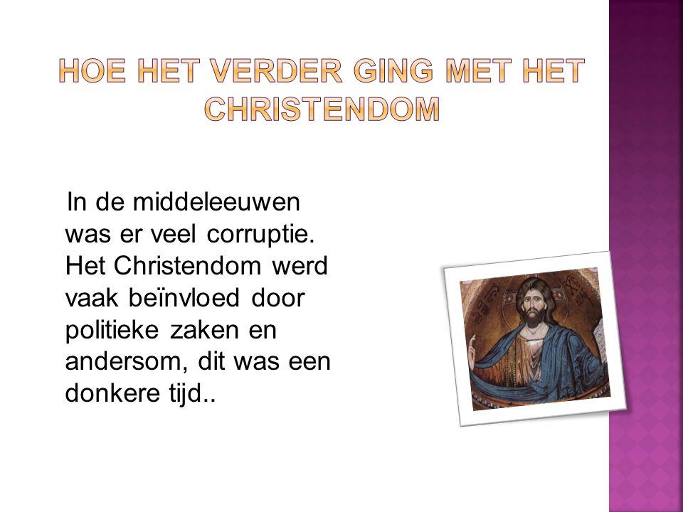 Protestants Rooms Katholiek  Bij de reformatie uiten vele mensen hun ongerustheid over de kerk.