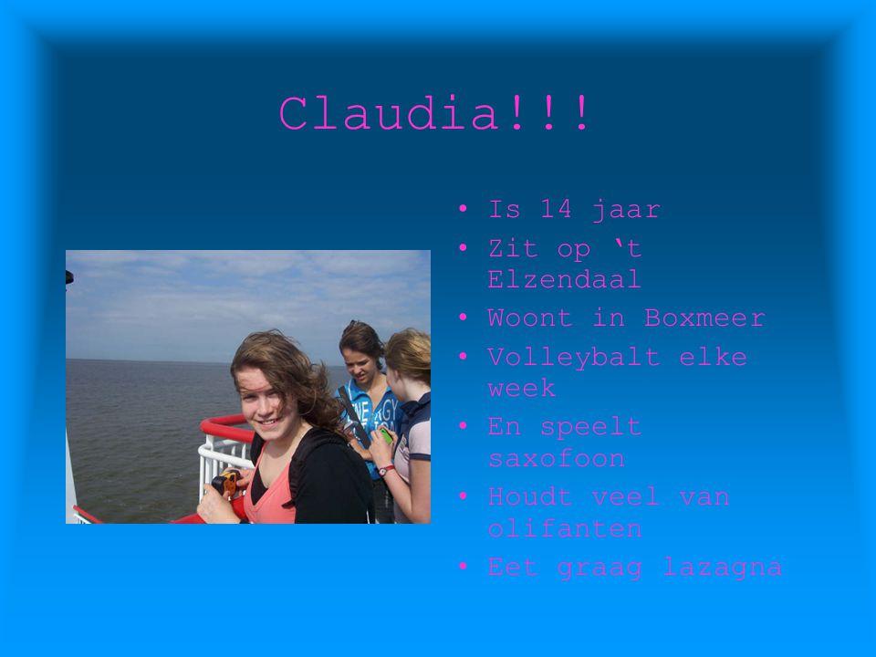 Marjo!!! Is 13 jaar Zit op 't Elzendaal Woont in Boxmeer Houdt veel van paarden Eet graag