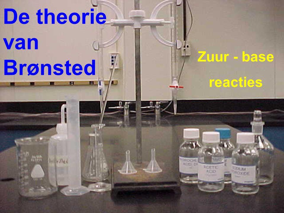De theorie van Brønsted Zuur - base reacties