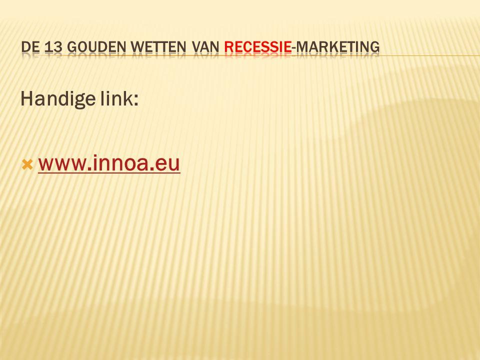 Handige link:  www.innoa.eu www.innoa.eu