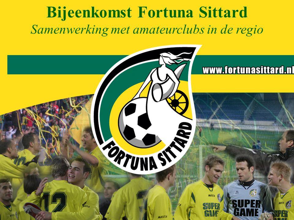 Bijeenkomst Fortuna Sittard Samenwerking met amateurclubs in de regio