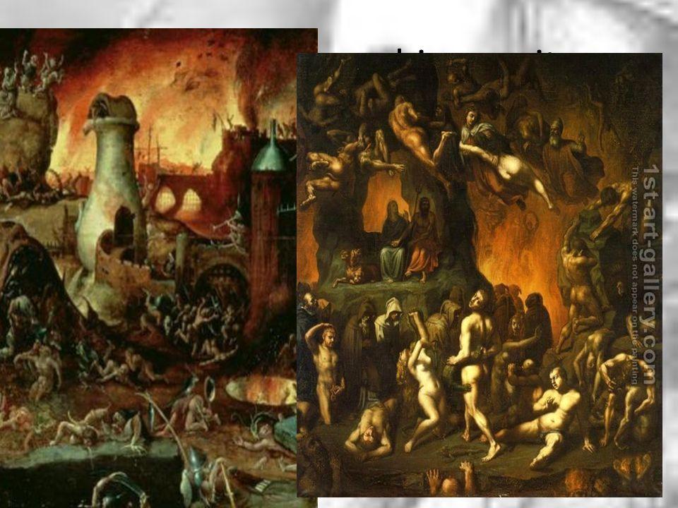 De misstanden in de kerk aan het eind van de 15 e eeuw sterk aanwezig. De angst en het bijgeloof onder de middeleeuwse bevolking was door de kerk ster