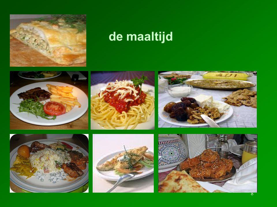 8 de maaltijd