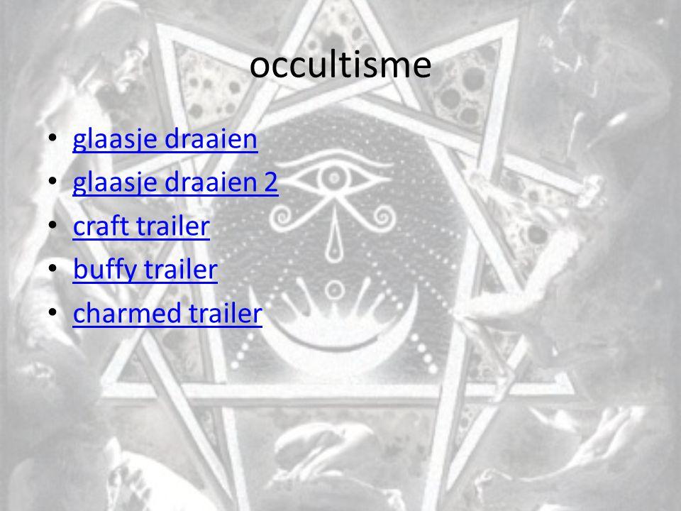occultisme glaasje draaien glaasje draaien 2 craft trailer buffy trailer charmed trailer