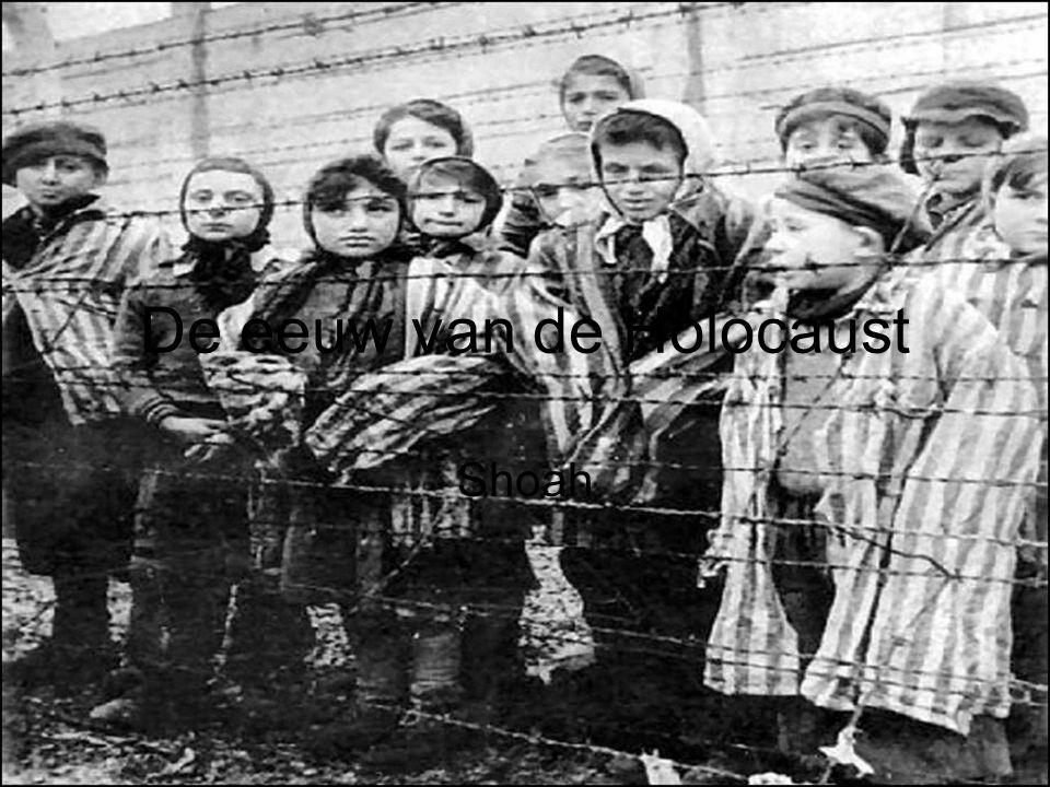 De eeuw van de Holocaust Shoah