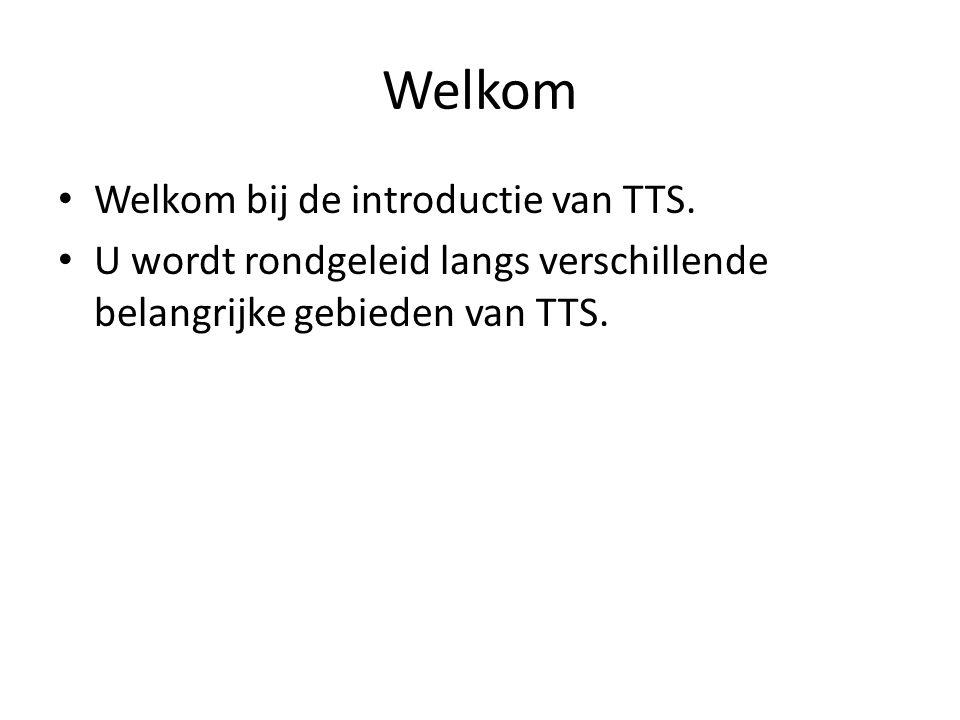 TTS introductie