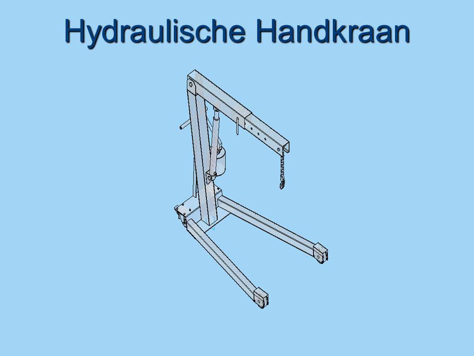 Hydraulische Handkraan