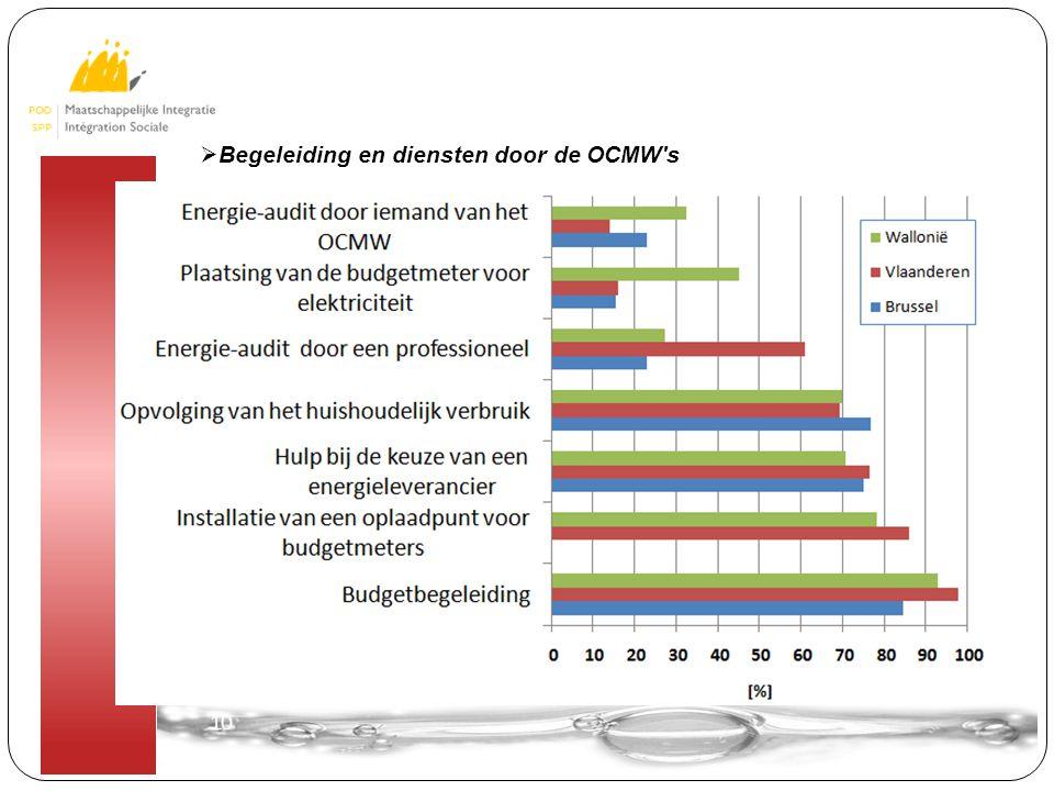 10  Begeleiding en diensten door de OCMW s