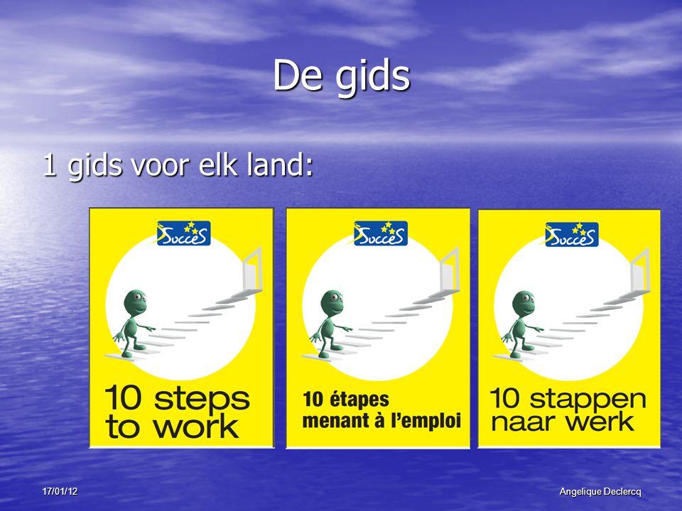 17/01/12Angelique Declercq De 10 stappen 1.Waar ben je goed in.