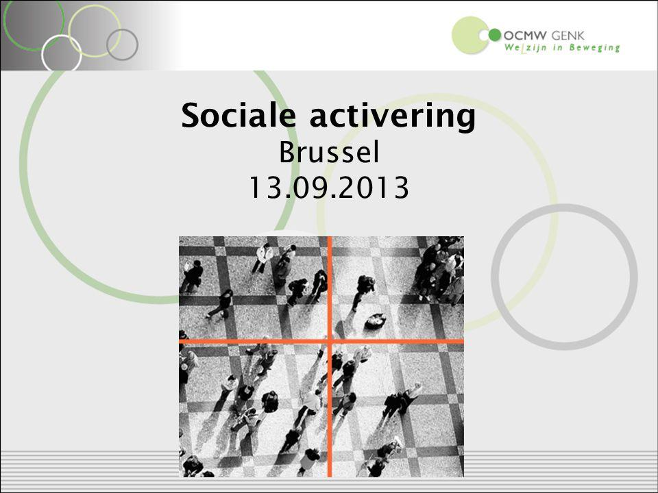 Sociale activering Brussel 13.09.2013