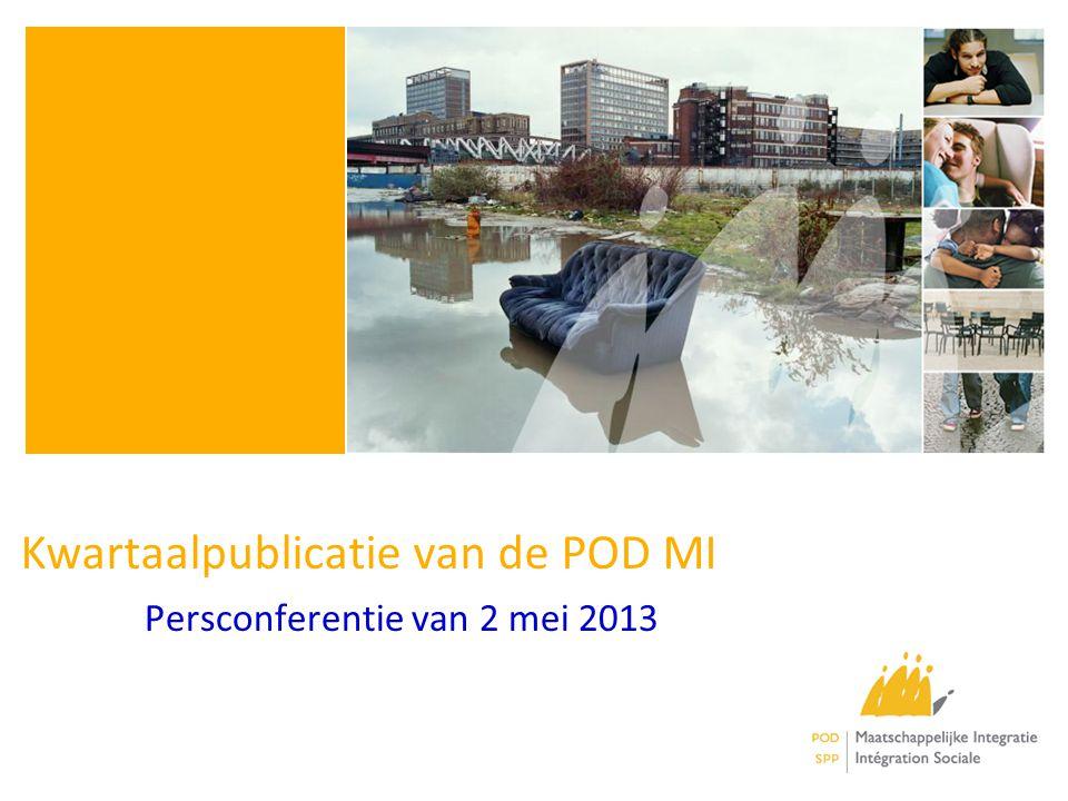 Kwartaalpublicatie van de POD MI Persconferentie van 2 mei 2013