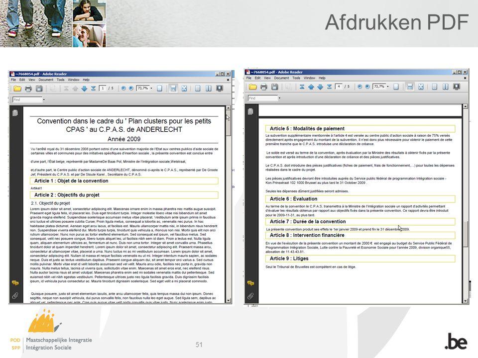 51 Afdrukken PDF