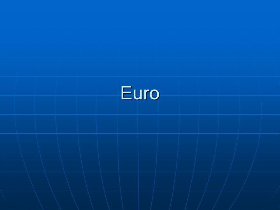 De euro 1992: Verdrag van Maastricht: gemeenschappelijke munt binnen Europa 1992: Verdrag van Maastricht: gemeenschappelijke munt binnen Europa 1997: Voorwaarden tot invoering euro in groei- en stabiliteitspact 1997: Voorwaarden tot invoering euro in groei- en stabiliteitspact 1999: Invoering van de euro 1999: Invoering van de euro 2002: invoering euromunten en - biljetten 2002: invoering euromunten en - biljetten