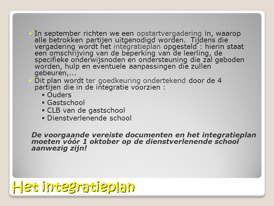 Frequentie en duur van de begeleiding De leerling heeft per onderwijsniveau recht op 2 jaar GON- begeleiding.