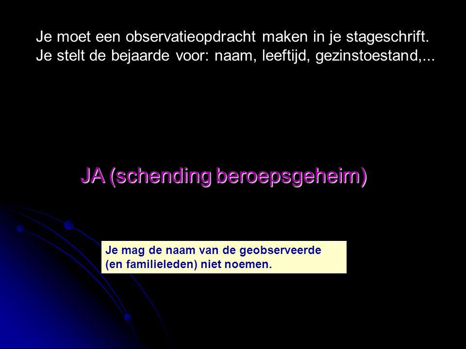 JA (schending beroepsgeheim) Hanne heeft een miskraam gehad.