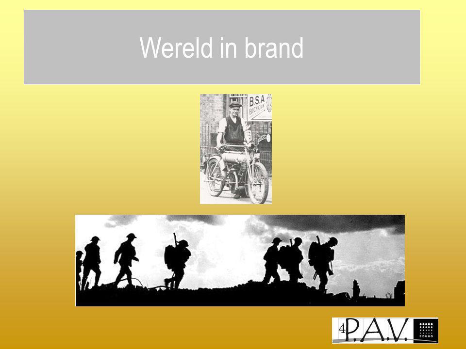 Wereld in brand