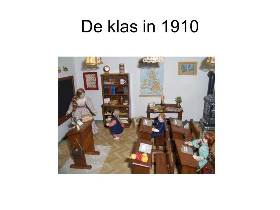 De klas in 1910