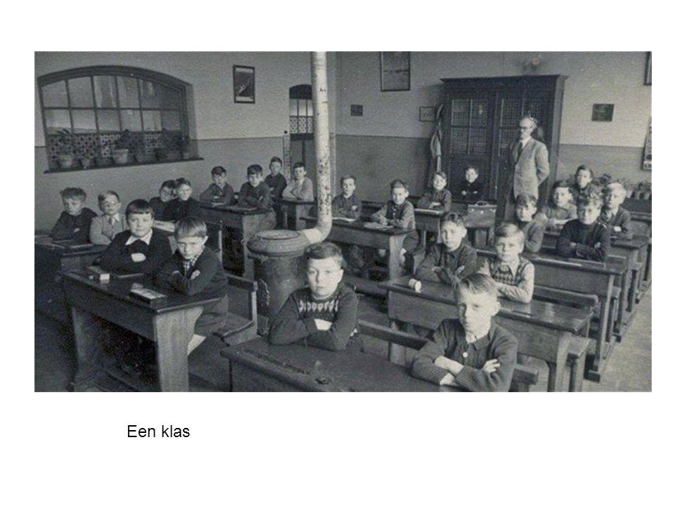 Bokrijk: een klasje uit 1910