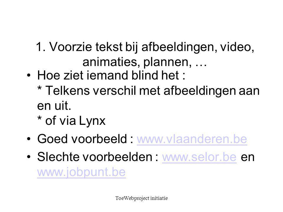 ToeWebproject initiatie 1.